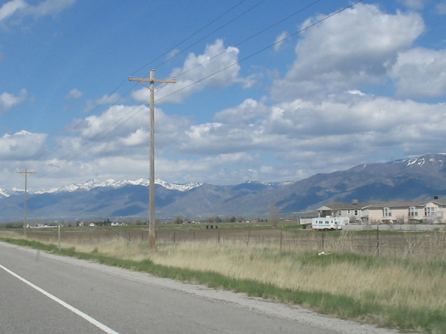 Logan, UT: Rt 89 heading into Logan