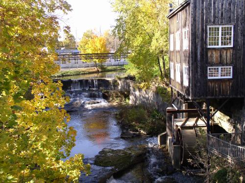 Garrettsville, OH : Olde Mill restaurant and brewpub photo ...