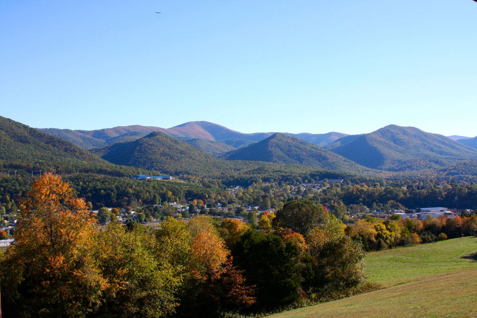 Buena Vista, VA: Photo of Buena Vista from Glen Maury Park