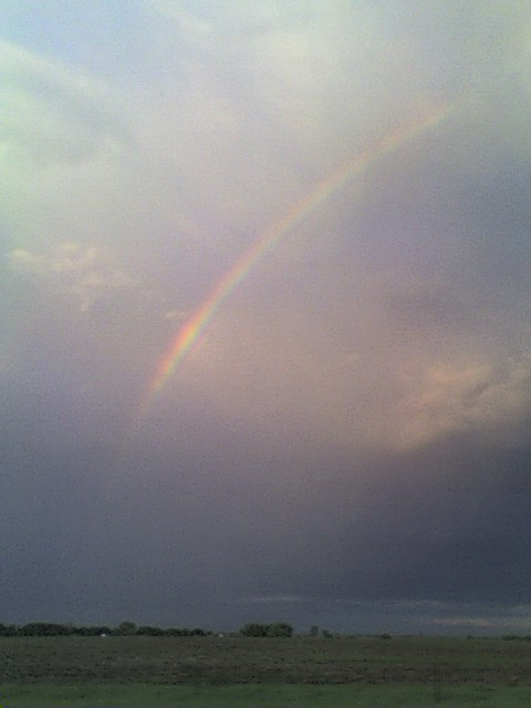 Ellendale, ND : AT THE END OF THE RAINBOW