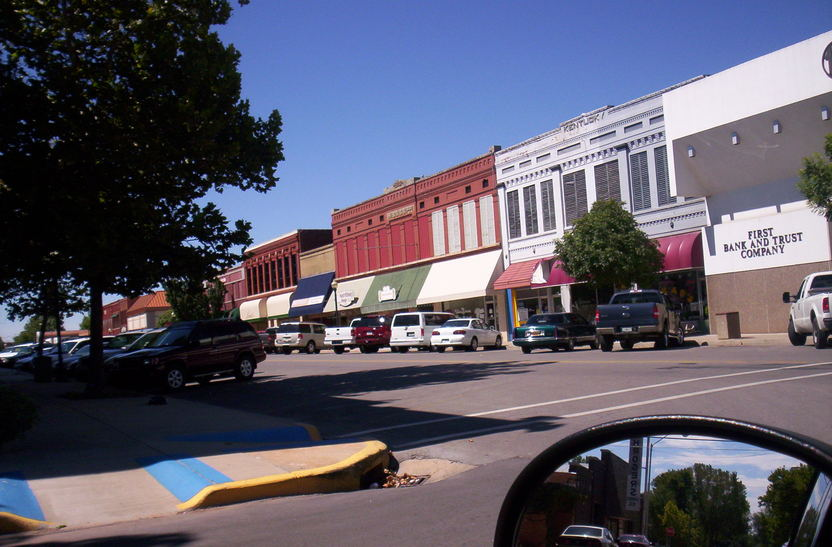 Clinton, OK: Mainstreet
