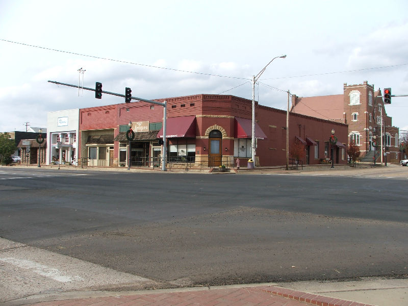 Booneville Ar Hwy 10 At Hwy23 Downtown Booneville Photo