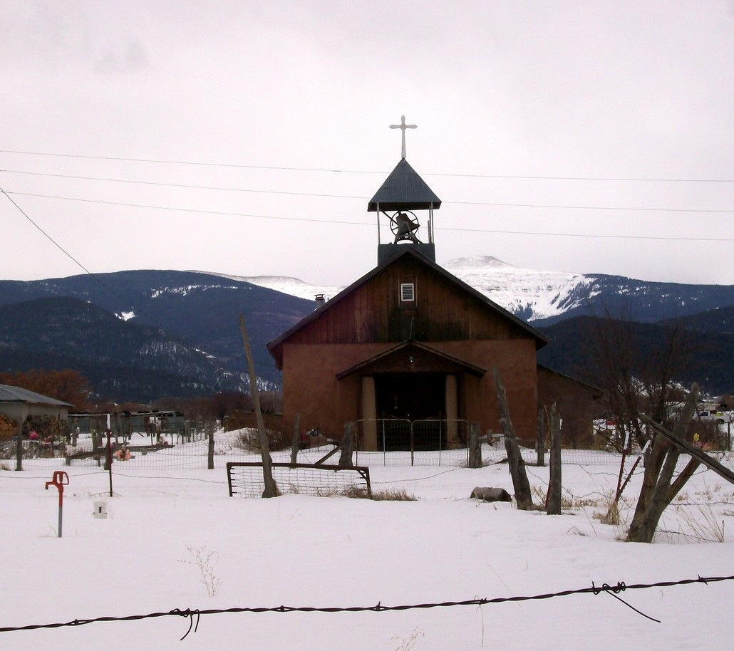 Penasco, NM : User note: This Beautiful Church is located In Llano, New Mexico and not in Penasco, New Mexico.