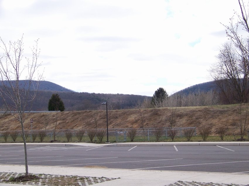 Delaware Water Gap, PA: The Gap as seen from Pennsylvania side
