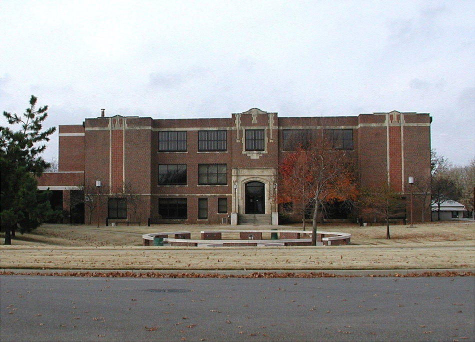 Stillwater, OK : old Stillwater High School, built 1919