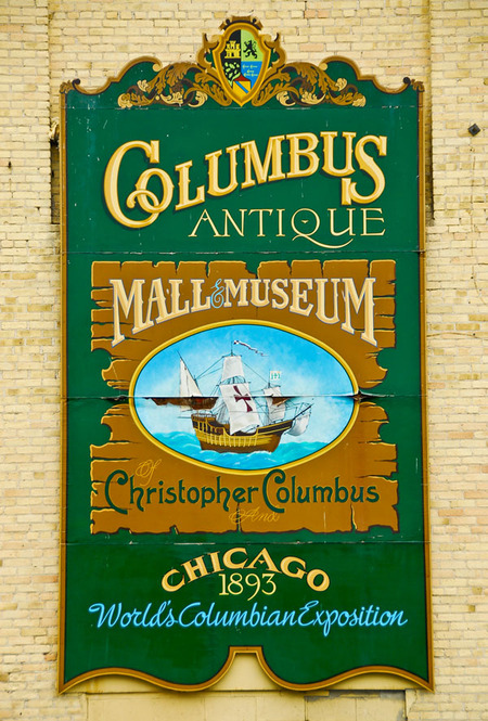 Columbus, WI : Christopher Columbus Museum & Antique Shop