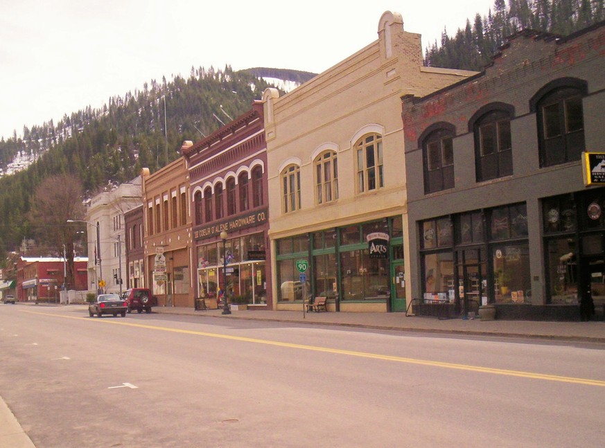 Wallace, ID : Sunday Afternoon in Wallace, Idaho