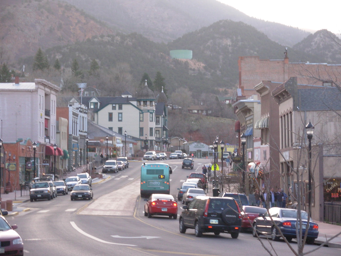 Manitou Springs, CO : Downtown Manitou Springs