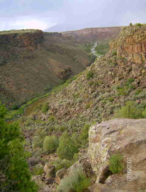 Questa, NM : Rio Grande Gorge; Wild Rivers Rec Area