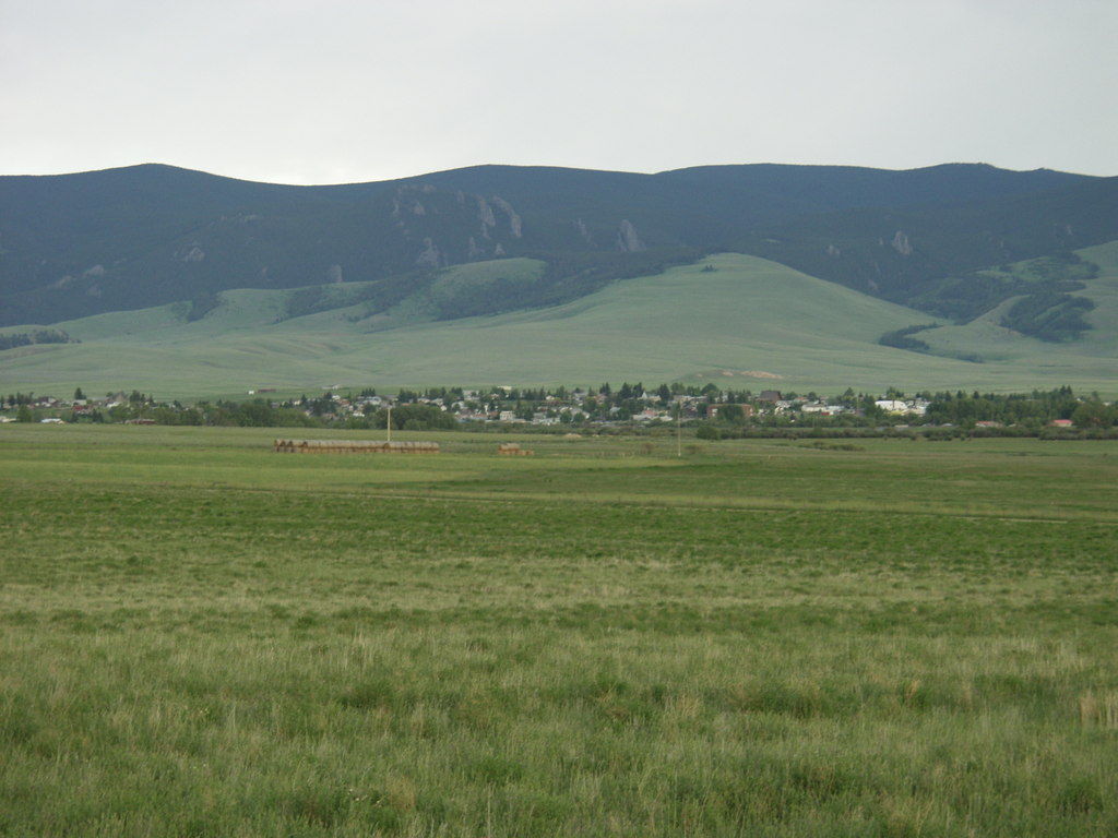 White Sulphur Springs, MT: A far away shot of White Sulphur