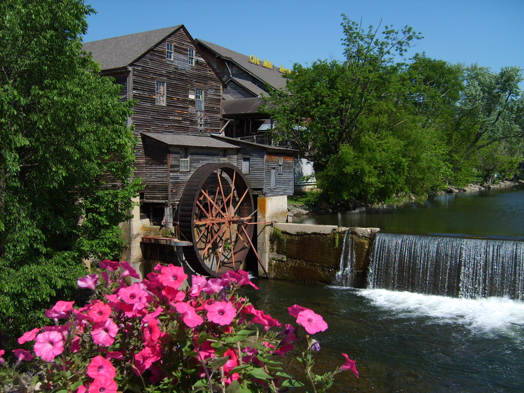 Pigeon Forge, TN : The Old Mill