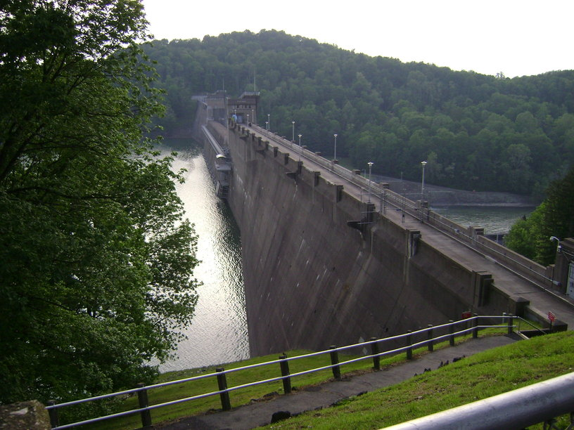 Grafton, WV : Tygart Lake Dam (Lake Side) - May 26, 2008
