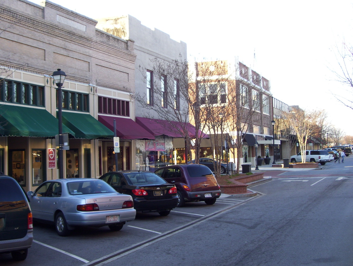 Greenville, NC: Downtown Evans St