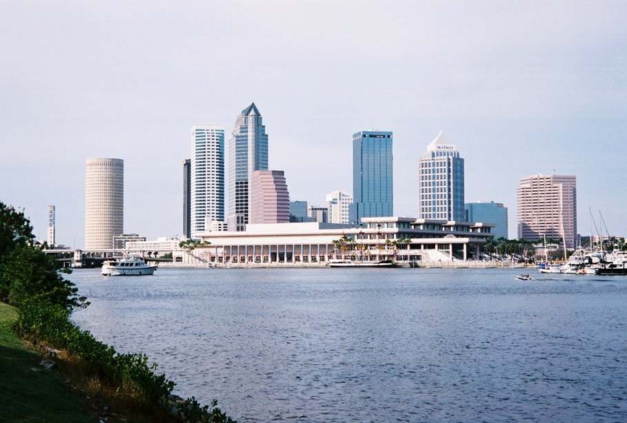 Tampa, FL: Davis Is. view