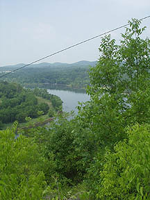 Forsyth, MO : Lake Taneycomo overlook