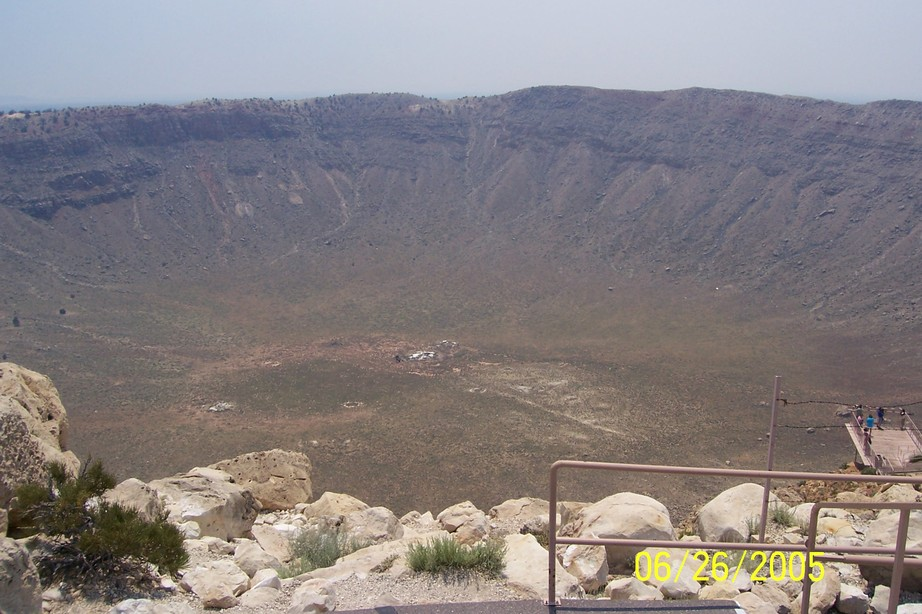 Winslow, AZ : Meteor Crater Arizona