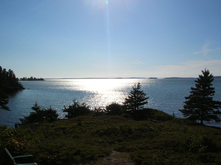 Deer Isle, ME: Mid Day Sept. - from Hitz Point - Sylvester's Cove
