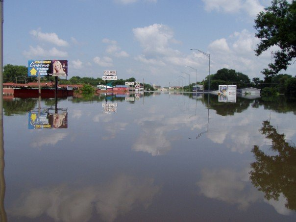 Miami, OK : The flood in 2007