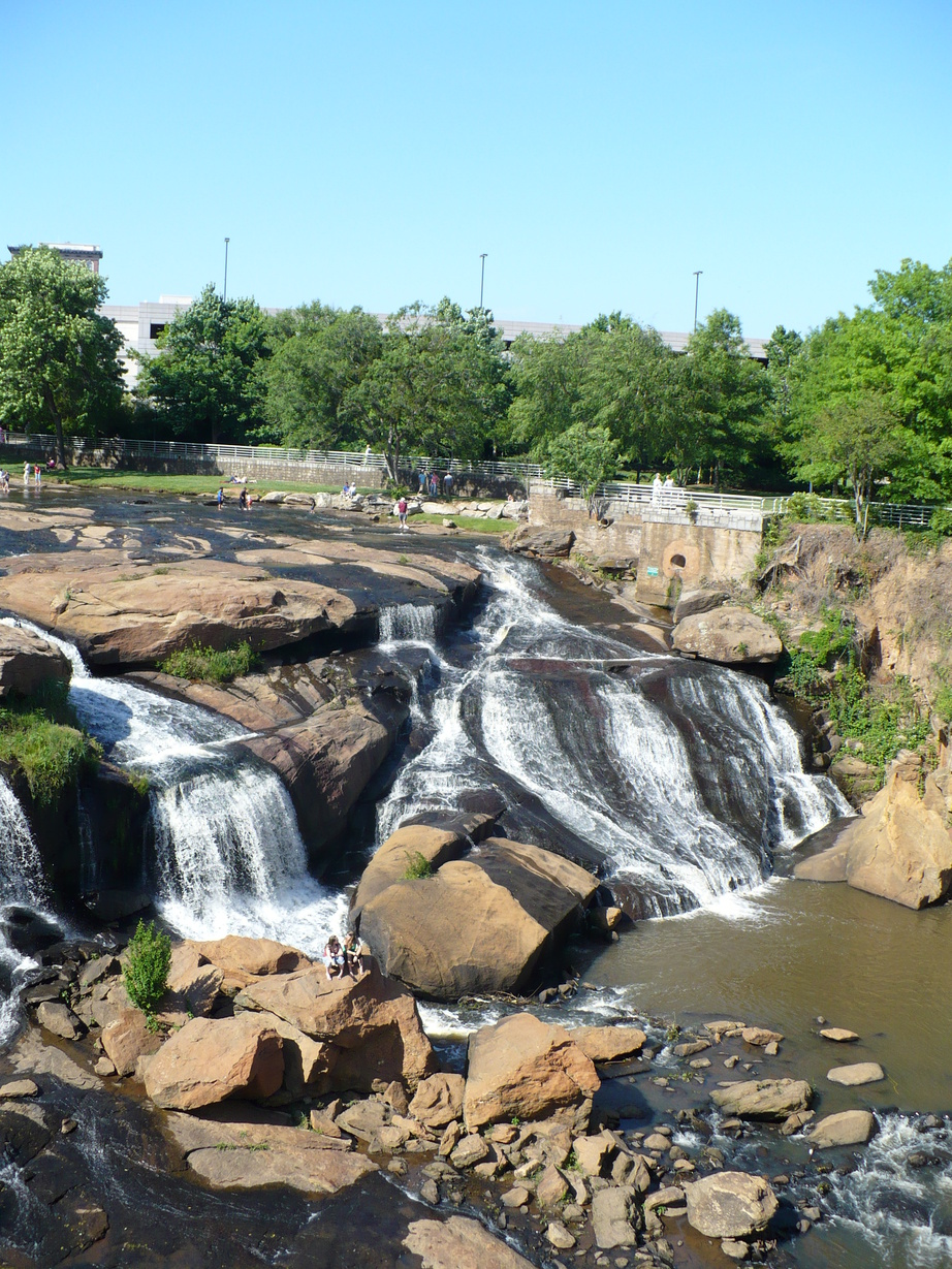 Greenville, SC : Falls Park at the Reedy River
