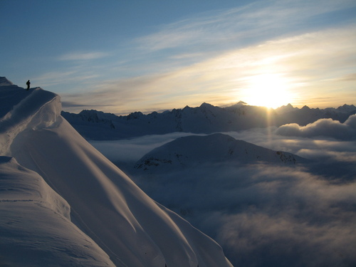 Haines, AK : Haines offers some of the finest skiing in the world. Accessable from helicoptor, snowcat, snowmobile, or hiking.