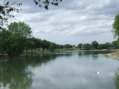 Guymon, OK : Sunset Park in summer