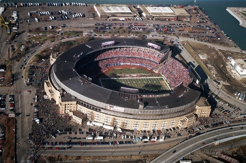 Cleveland Oh The Old Cleveland Stadium On December 17