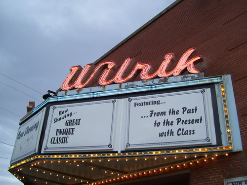 Sanford, NC: Marquis of the Wilrik Theatre located in Sanford, NC.