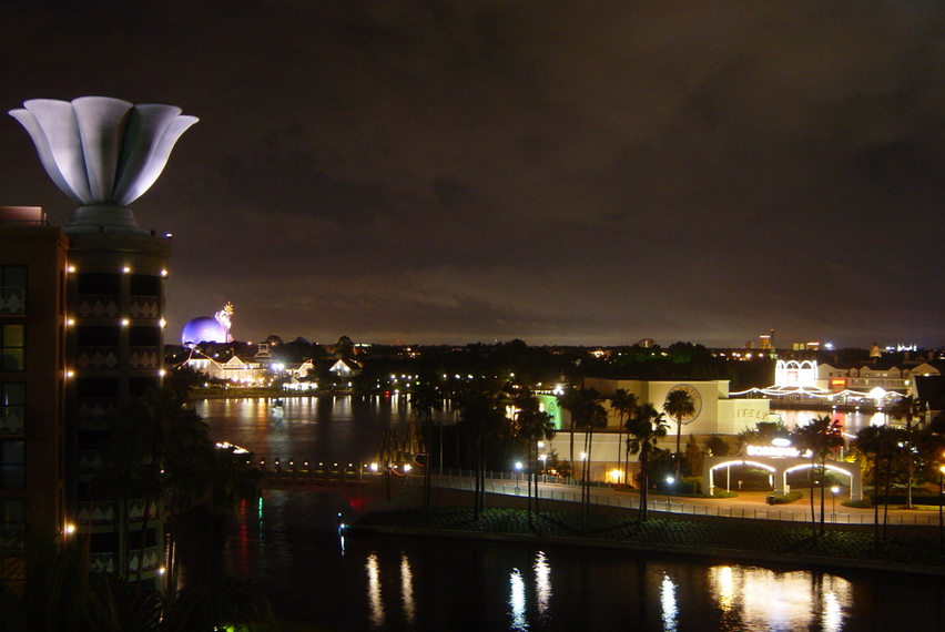 Orlando, FL: Epcot In the Distance