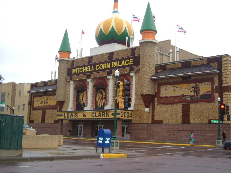 Mitchell, SD : Mitchell Corn Palace, 2004