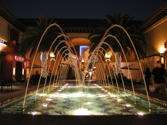 Irvine, CA : Fountain in Irvine