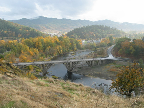 Myrtle Creek, OR : myrtle Creek Bridge