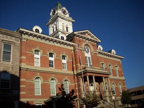 Athens, OH : Athens County Ohio Courthouse