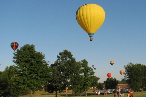 Brunswick, OH: Balloon Launch