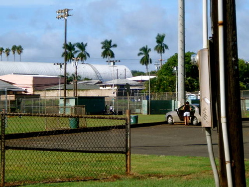 Wahiawa, HI: Wahiawa Park Fred Wright Gym Pool Tennis Courts