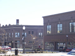 Denison, IA : Broadway and Main in Denison
