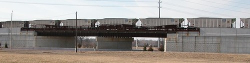 Olathe, KS : Ridgeview Road Railroad Bridge
