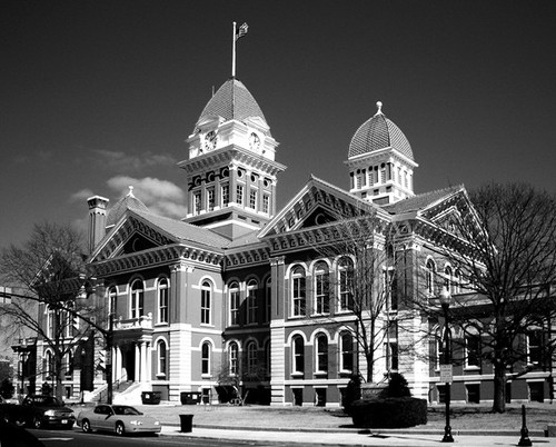 Crown Point, IN : Historic Crown Point Courthouse (March 2008)