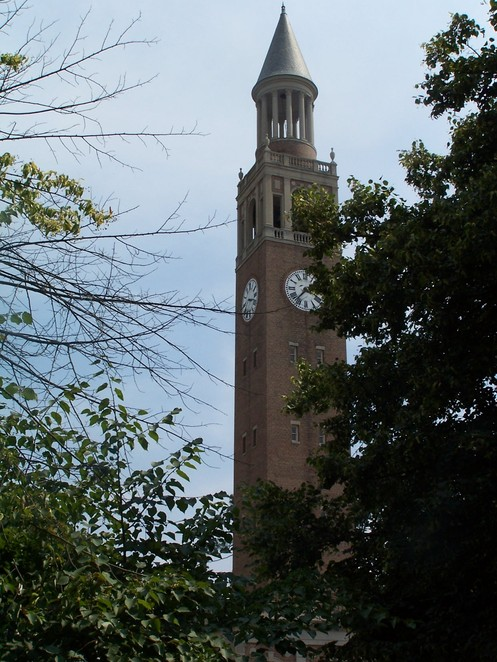 Chapel Hill, NC : UNC Bell Tower