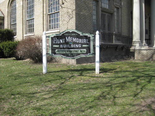 Ellenville, NY : Hunt Memorial building
