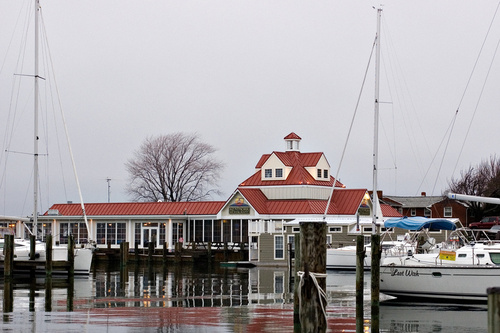 Stevensville, MD : Marina and Restaurant located along the bay of Kent Island. It is surrounded by a small community that also enjoys a small private air strip.