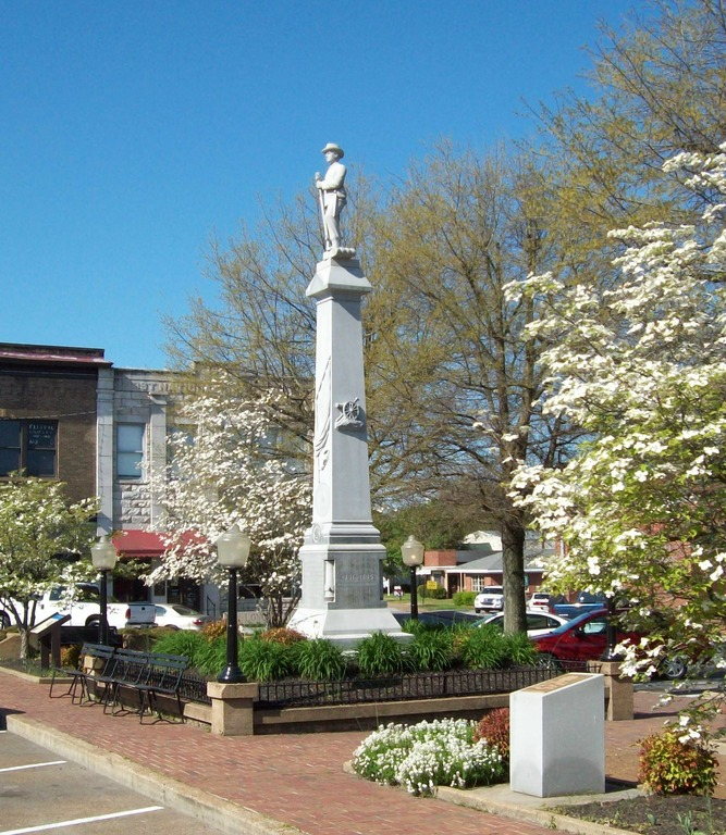 Mount Pleasant  Tn   Mt  Pleaant Square In Spring Photo