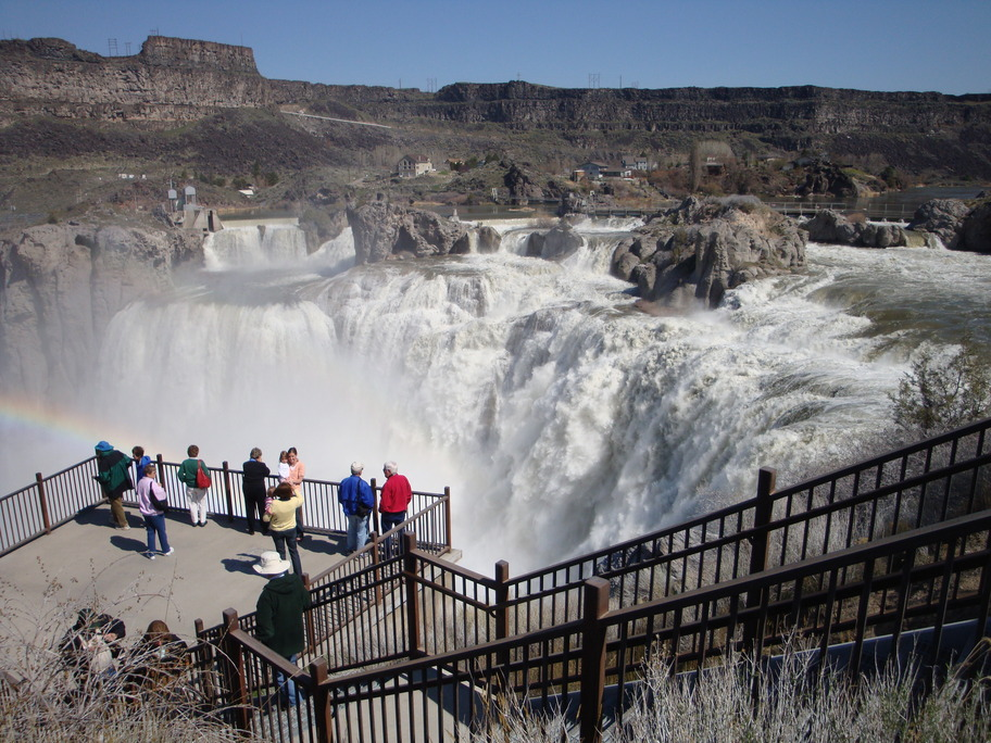 Twin Falls, ID : Shoshone Falls In April 2009