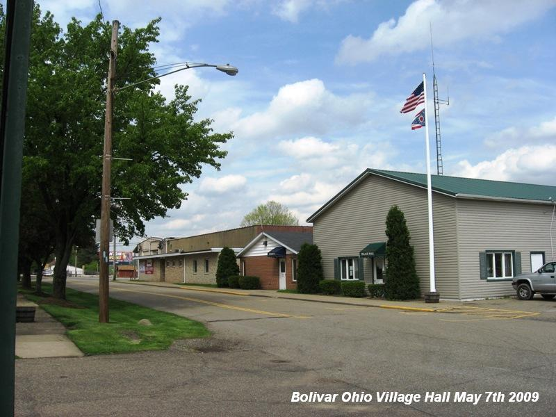 Bolivar, OH : Bolivar Ohio Village Hall May 7th 2009
