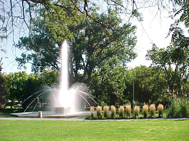 Alliance, NE : Central Park Fountain-On the National Historic Register