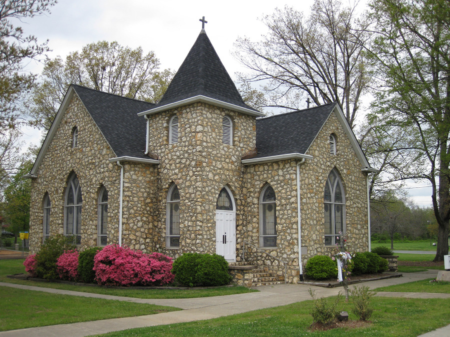 Indian Trail, NC : Indian Trail Presbyterian Church organized and built in 1913-remodeled 1935