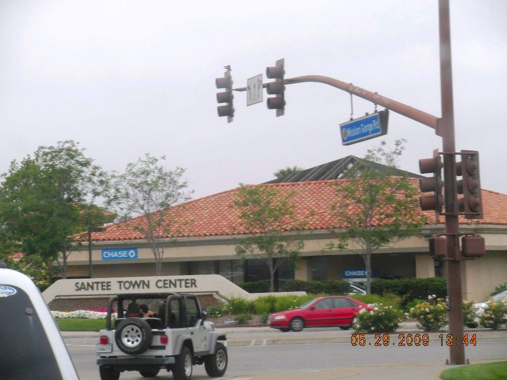 Santee, CA: Santee Town Center - Mission Gorge Road