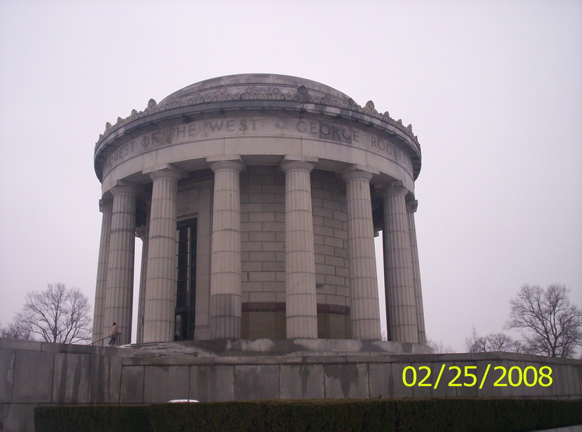 Vincennes, IN: george rogers clark memorial vincennes