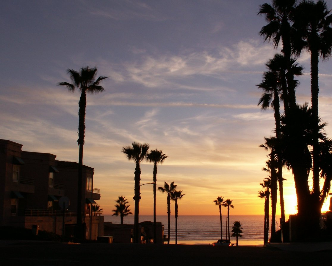 picture of Oceanside,Ca Sunset