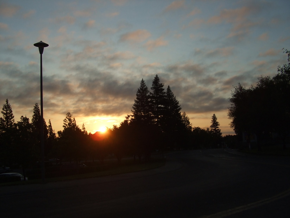 Citrus Heights, CA : Sunday Sunrise in Citrrus Heights Ca 06/14/09