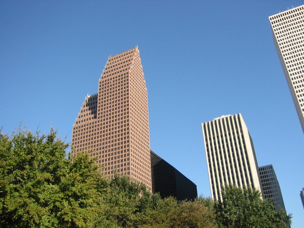Houston, TX: Downtown buildings